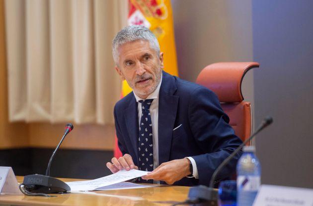 Fernando Grande-Marlaska, ministro del