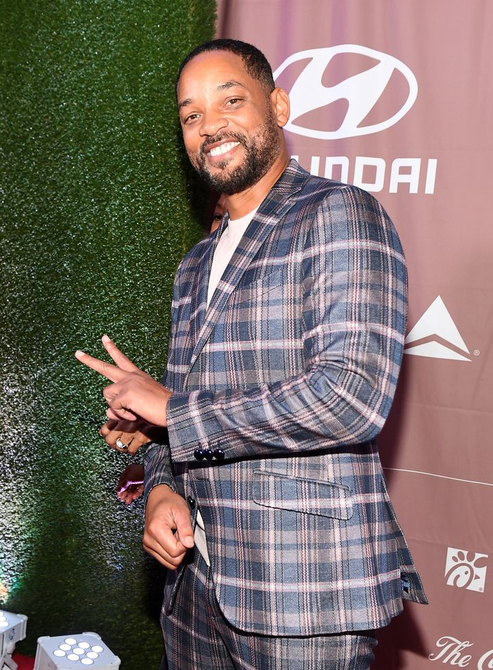 Will Smith at the 2020 Salute to Greatness Awards Gala on Jan. 18, 2020, in Atlanta, Georgia.