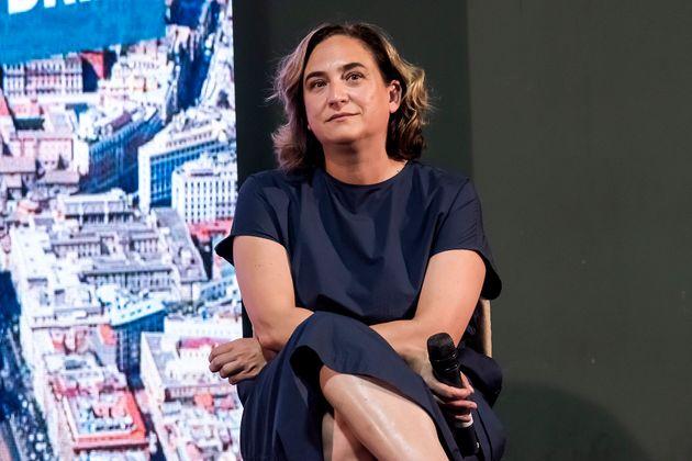 La alcaldesa de Barcelona, Ada Colau, en una foto de