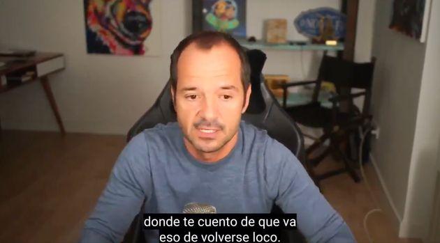 Captura del informativo de Ángel Martín de este
