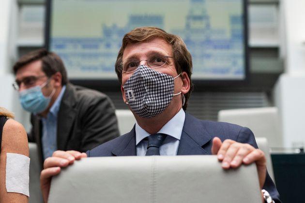 El alcalde de Madrid, JoséLuis Martínez-Almeida, en una imagen de este martes, 7...