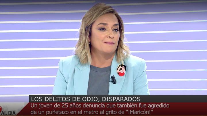 Toñi Moreno en 'Cuatro al día'.