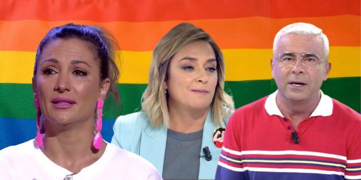 Nagore Robles, Toñi Moreno y Jorge Javier Vázquez han hecho su alegato contra LGTBIfobia.