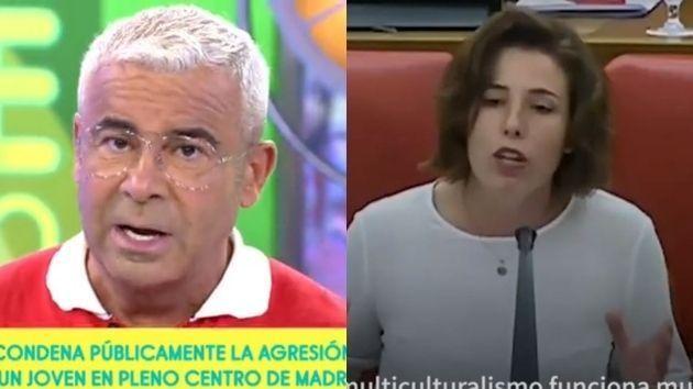 Jorge Javier Vázquez y Rocío de