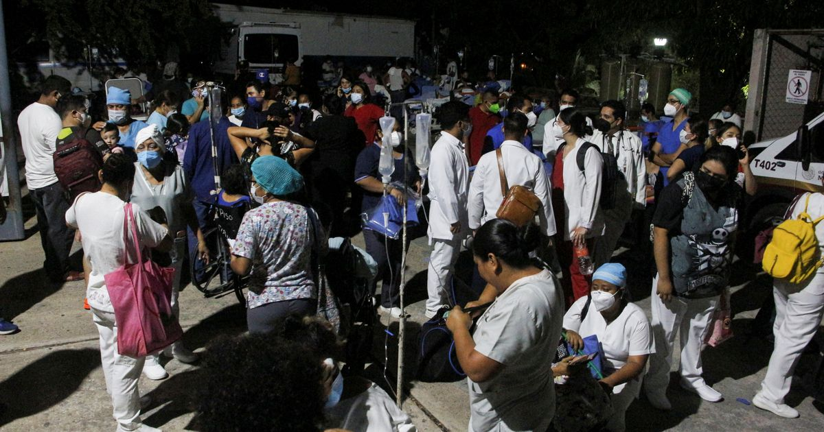 Strong Quake Hits Southern Mexico, Buildings Sway In