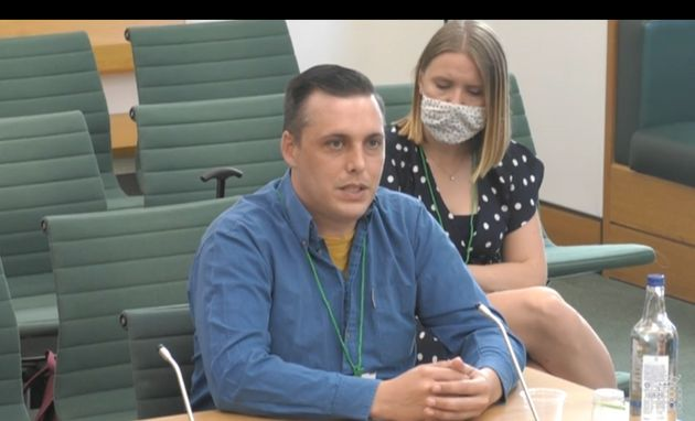 Anthony Lynam was one of five Universal Credit claimants to give evidence before the committee. He said...