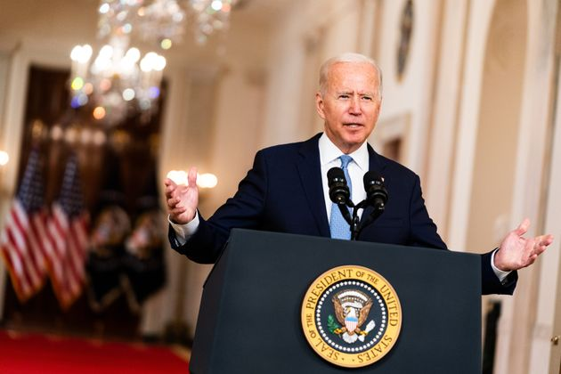 Biden went along with the Taliban's demand to remove all US troops by August