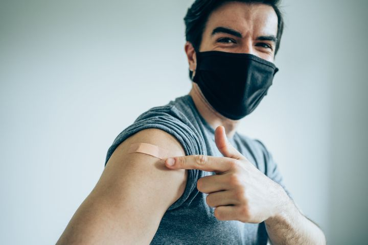 A new study suggests there are significant mental health benefits to getting vaccinated.