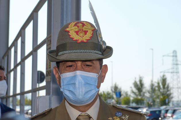 General Francesco Paolo Figliuolo, extraordinary commissioner for the Covid19 emergency, visits the Vaccine...