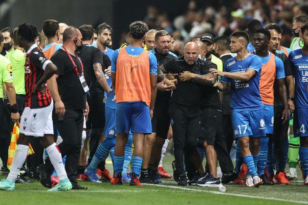 Après les incidents de Nice-OM, le match sera rejoué sur terrain neutre et à huis-clos...