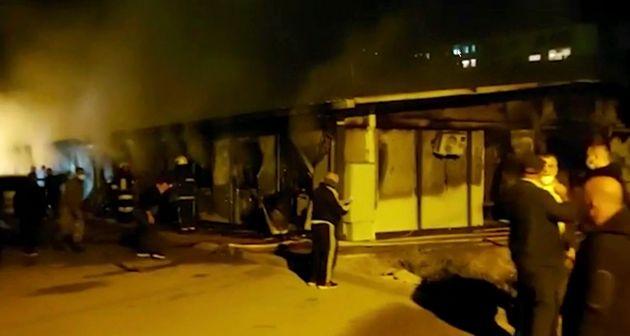 Un incendie dans un hôpital Covid fait 10 morts en Macédoine du