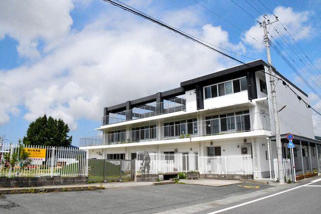 クラスターが発生した城山保育園=2021年9月8日、熊本市西区、堀越理菜撮影