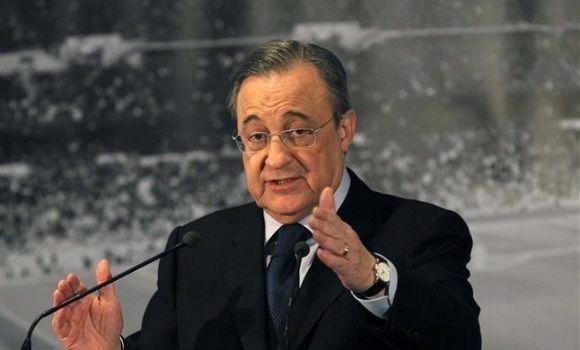 Florentino Pérez, presidente del Real