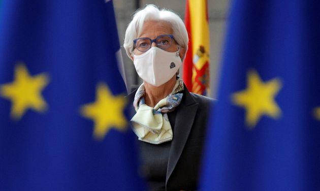 La presidenta del Banco Central Europeo, Christine Lagarde, el pasado 25 de