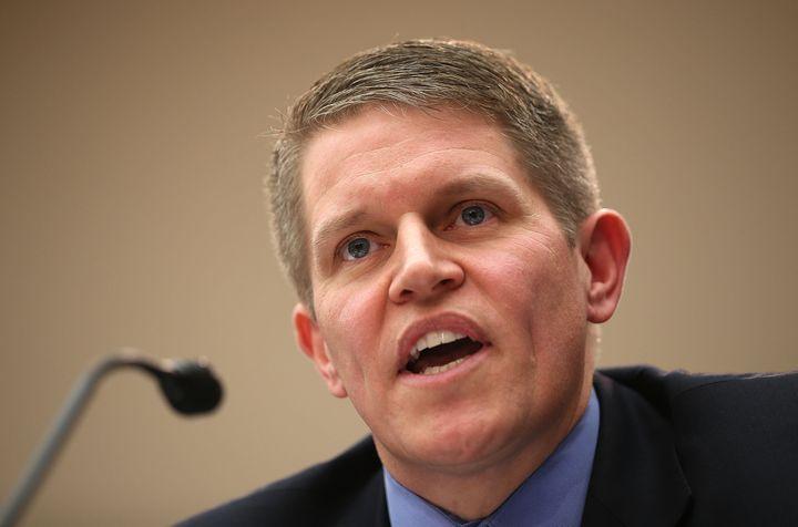 David Chipman testifies during a hearing January 2013.