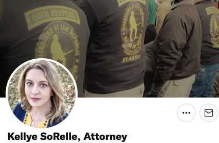 Kellye SoRelle, a volunteer with Lawyers for Trump and general counsel for the Oath Keepers, had her...