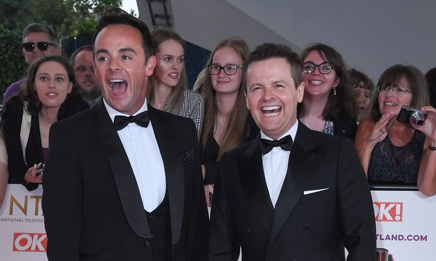 Ant and Dec in the red NTA