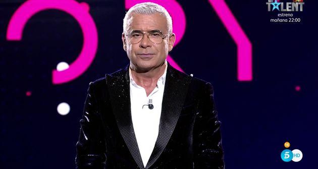 Jorge Javier Vázquez, en el estreno de 'Secret