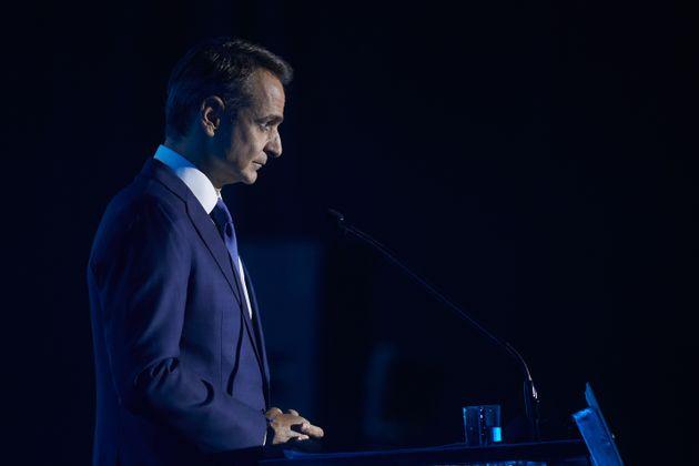 Ομιλία του Πρωθυπουργού κυριάκου Μητσοτάκη στην ΔΕΘ, το Σάββατο 12 Σεπτεμβρίου 2020. (EUROKINISSI / ΓΡΑΦΕΙΟ...