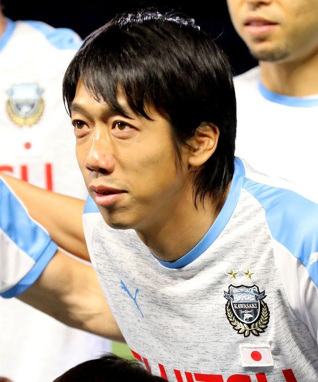 川崎フロンターレの選手だった当時の中村憲剛さん(2019年03月13日撮影)