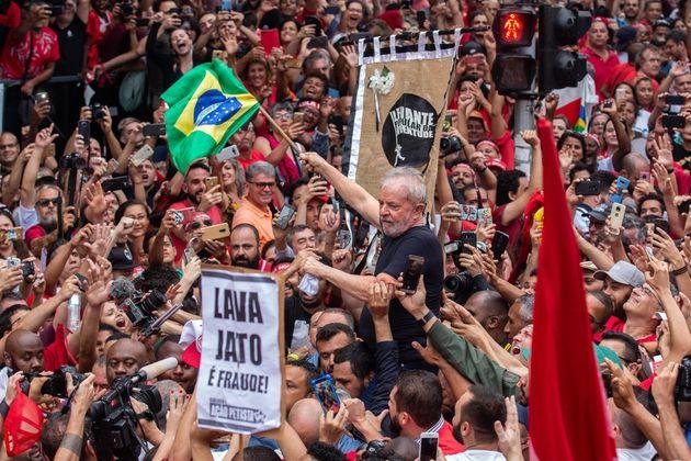 El expresidente de Brasil Luiz Inácio Lula da Silva, en una imagen de