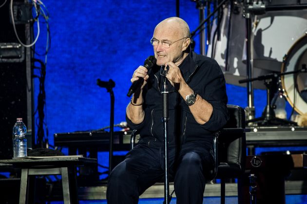 MILAN, ITALY - JUNE 17: English singer and multi-instrumentalist Phil Collins performs live on stage...