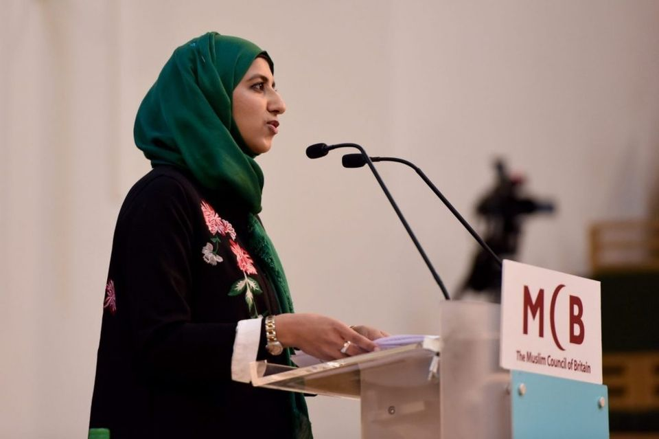 Zara Mohammed made history being elected as secretary-general of the Muslim Council of