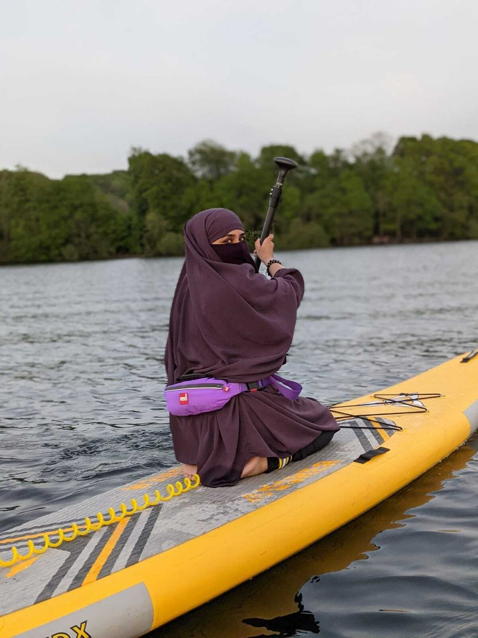 Amira started an outdoor adventure group to support Muslim women who want