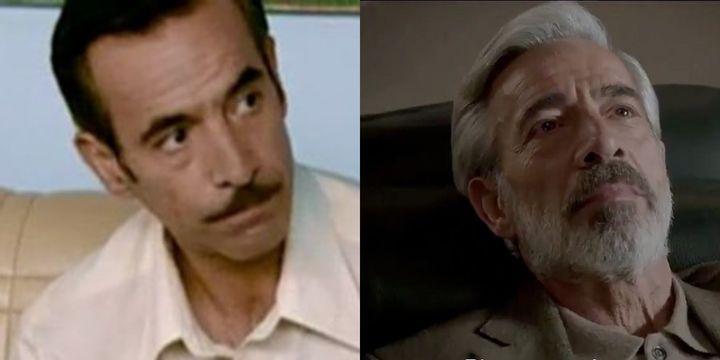 Antonio Alcántara en el primer capítulo de 'Cuéntame' y en la 21ª temporada.