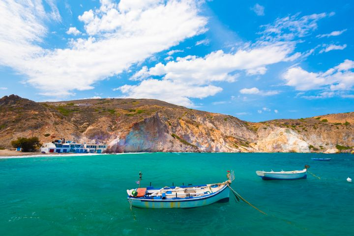Mandrakia, a small and beautiful fishing village in Milos, Cyclades Islands, Greece