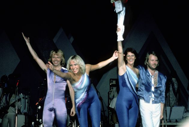 ABBA performing in New York back in