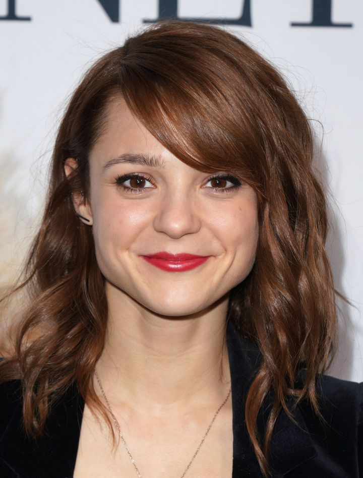 """Kathryn Prescott attends the premiere of """"A Dog's Journey"""" at ArcLight Hollywood in May 2019."""