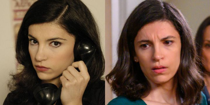 Inés Alcántara en el primer capítulo de 'Cuéntame' y en la 21ª temporada.