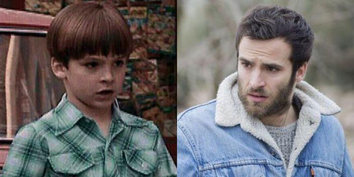Carlos Alcántara en el primer capítulo de 'Cuéntame' y en la 21ª temporada.
