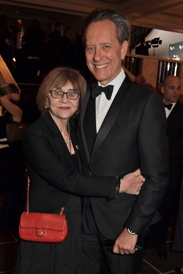 Joan Washington and Richard E. Grant pictured in