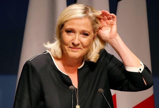 Marine Le Pen (ici le 15 septembre 2019) a choisi Twitter pour féliciter Marion Maréchal...