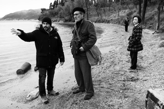 アンドリュー・レヴィタス監督(左)とジョニー・デップさん