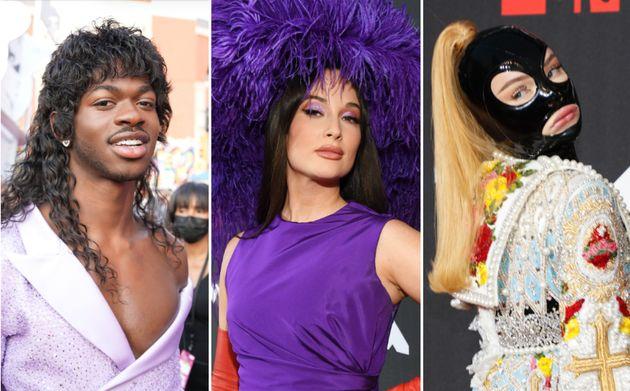 A look at the MTV VMAs red