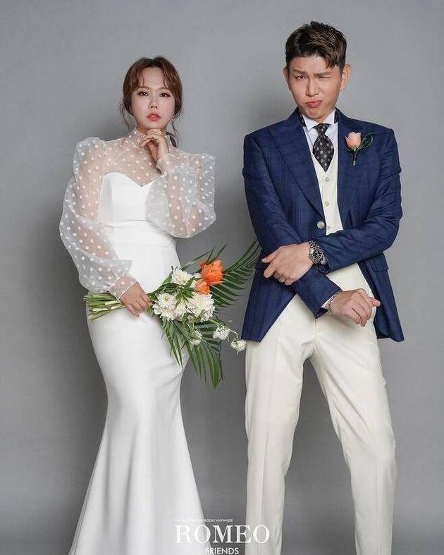 결혼 2주년을 맞아 리마인드 촬영한 홍현희-제이쓴