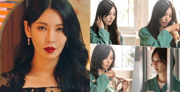 '펜트하우스'의 천서진을 연기한 배우