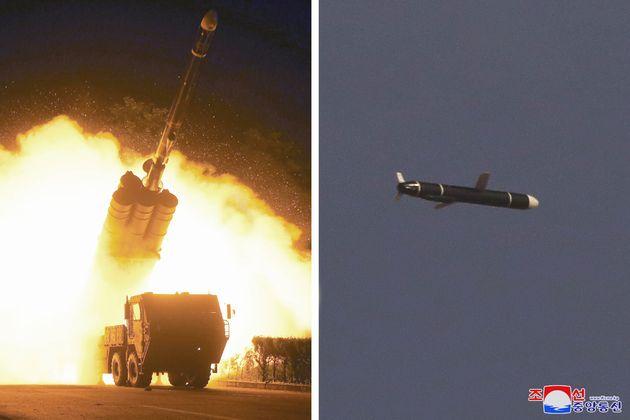 Δοκιμαστική εκτόξευση πυραύλων Κρουζ μεγάλου βεληνεκούς από τη Βόρεια
