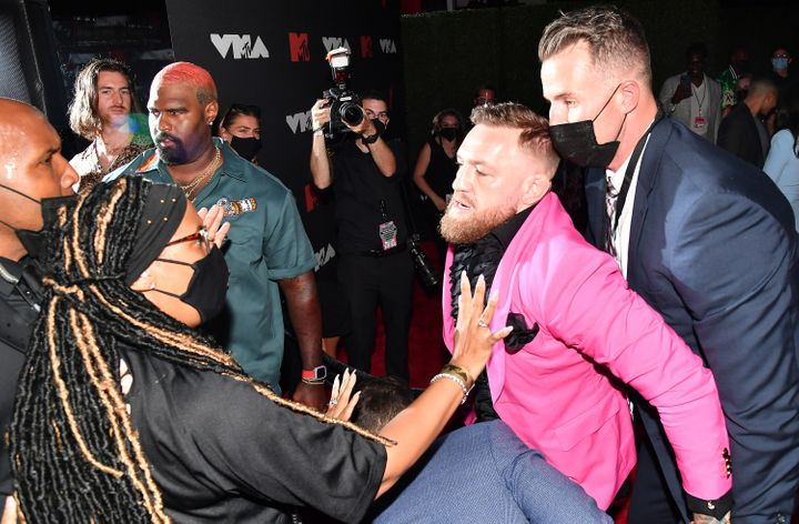 NEW YORK, NEW YORK - SEPTEMBER 12: Conor McGregor attends the 2021 MTV Video Music Awards at Barclays Center on September 12,