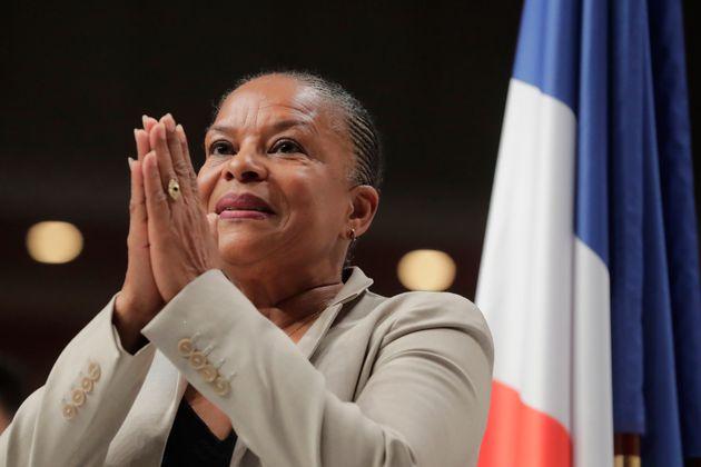 Bien qu'éloignée de la vie politique nationale, Christiane Taubira (ici lors d'un meeting...
