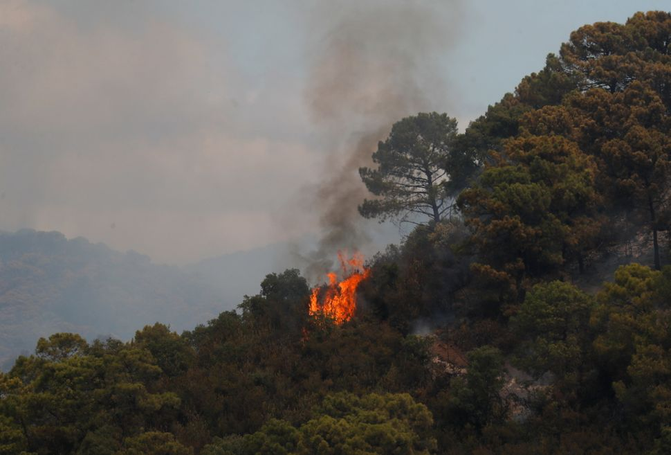 Spain's Latest Wildfires In Pictures: 'Nothing Like This Has Ever Been