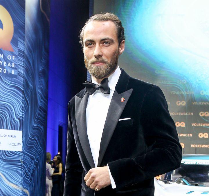 James Middleton, en los Premios GQ 2018 en Berlín.