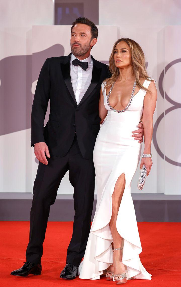 Ben Affleck y Jennifer Lopez, en Venecia