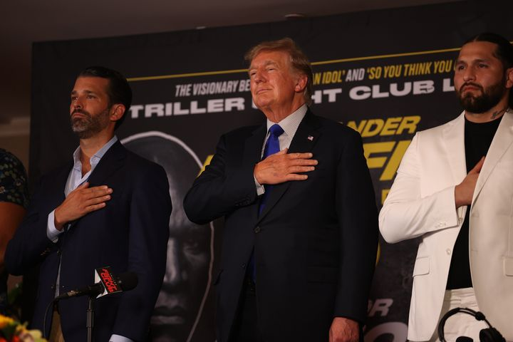 Donald Trump takes soft hit on election results in boxing comment