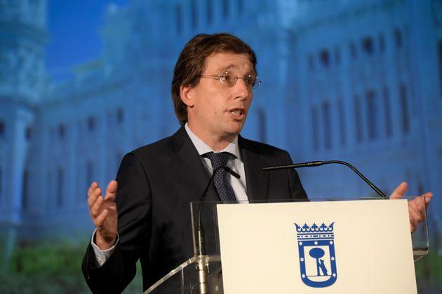 El alcalde de Madrid, José Luis Martínez-Almeida, en una foto de