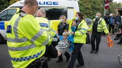Dozens Of Insulate Britain Activists Arrested After Blocking M25 For Climate