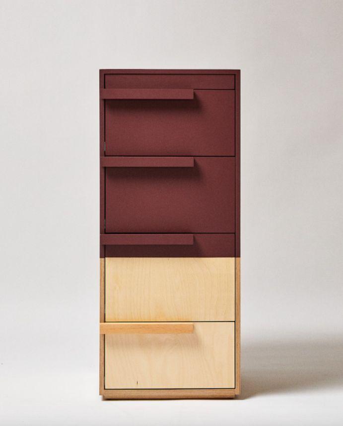 Cómoda de abedul de Zara Home y Kassl Editions